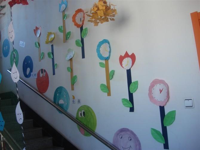 楼梯墙面布置_楼梯墙面布置_榆树佳丽幼儿园